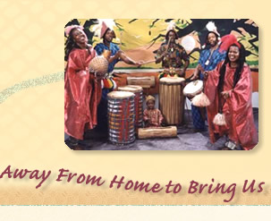 Dancers & Drummers Born Away From Home to Bring Us Back